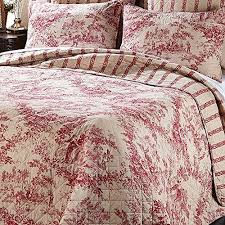 128 best Ivy Hill Home quilts images on Pinterest | Florida, Ivy ... & IVY HILL Red FRENCH TOILE Country FULL/QUEEN QUILT & SHAMS SET Ivy Hill http Adamdwight.com
