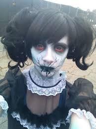 37 scary face makeup ideas broken doll