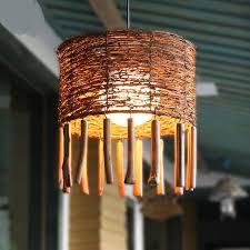 asian lighting. Farmhouse Garden Pendant Lights Rattan Cafe Tea Restaurant Living Room Hone Lighting Bamboo Southeast Asian Pendan Lamp ZA-in From I