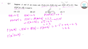 Iit Jam Ms Stats Solution 2 Solutions 9836793076 Mathematical Statistics