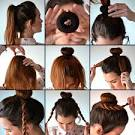 Пончик на волосы