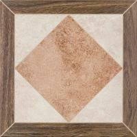 Керамический гранит <b>Cersanit Persa Wood</b> Frame, 42x42 ...