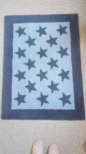 laura ashley wool blue star rug in durham county gumtree