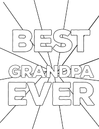 This card prints best with your printer's borderless. Happy Fathers Day Grandpa Printable Cards Color And Drawing