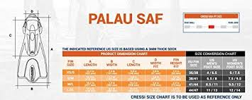 Cressi Palau Short Snorkeling Fins With Mesh Bag Blue X