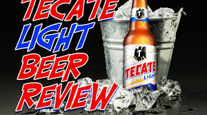 tecate light mexican beer review