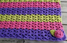 Free Crochet Blanket Patterns Interesting Fiber Flux Free Crochet PatternSorbetto Baby Blanket Play Mat