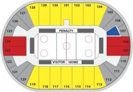 flyers arena seating chart pensacola ice flyers arena info