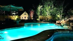 swimming pool lighting ideas. Large Size Of Outdoor Pool Patio Lighting Ideas Swimming Design O
