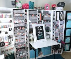 Q: How did you organize all of your craft supplies before the WorkBox?