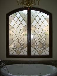 etched glass windows stained glass traditional decor arabesque bevels ii tub windows sans soucie