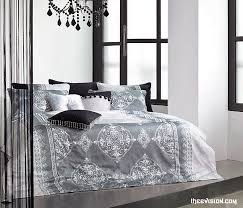 minimalist bedroom with silver grey cotton duvet covers ikea ireland black crystal chandelier lighting