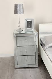 mirrorred furniture. Venetian Mirror Bedside Table Mirrorred Furniture