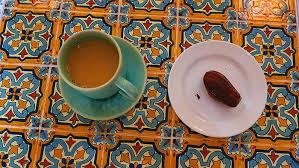 cafe madeleine coffee and madeleine