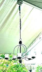 candle chandeliers non electric delightful outdoor chandelier hanging uk