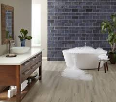 vinyl wood plank flooring on walls can