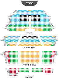 Lion King Theatre Seating Chart Her Majestys Theatre Seating Plan The Best Phantom Of The