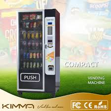 Compact Combination Vending Machine Beauteous Compact Snack And Soda Combo Vending Machine Supports Digital