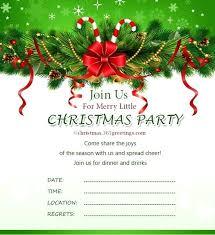 Christmas Party Invitation Wordings Guluca