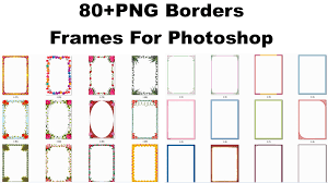 Frames For Photoshop 80 Png Borders Frames For Photoshop Movie Mixing Zone 4u