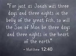Image result for THE NUMBER THREE AND jONAH