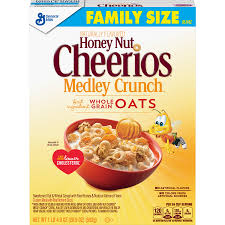 2 pack honey nut cheerios medley crunch cereal family size 20 9 oz box walmart