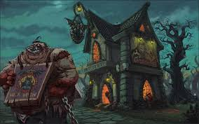 wallpapers dota 2 pudge monsters fantasy games