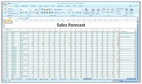 Forecast Budget Template Forecasting Spreadsheet Template Tradingfactory Info