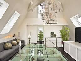 contemporary loft furniture. Modern Contemporary Loft Apartment With Glass Floor Design Furniture T