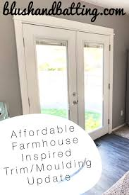 Affordable Farmhouse Inspired Trim/Moulding Update | Blush and ...