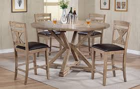 grandview 60 round tall table w lazy susan by winners only