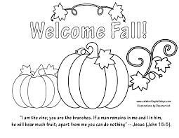Small Picture Fall Coloring Pages Miakenasnet