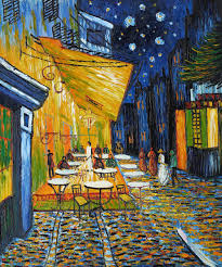 2018 vincent van gogh oil painting reion decorative painting landscape art painting cafe terrace at n hand painted high quality free ship from