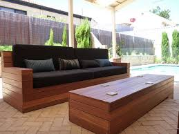 Gorgeous Outdoor Sofa Wood Wonderful Wooden Outdoor Sofa Homemade Modern  Ep70 Outdoor Sofa