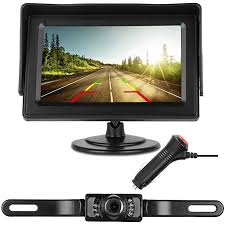Amazon.com: DohonesBest Backup Camera Single Power for Car/RV/Pickup ...