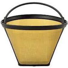Paper cone coffee filters capture the fine sediment that can collect. Mr Coffee Permanent Gold Tone Coffee Filter Gtf3 Sale 15 20
