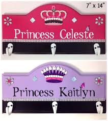 Princess Coat Rack Kids coat rack girls coat rack Princess coat rack 1