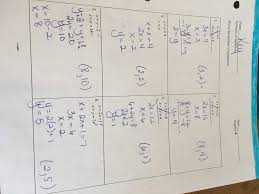 systems of equations answer key