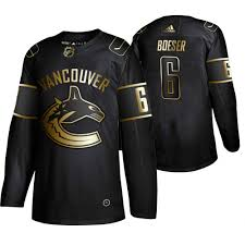 Edition Vancouver Canucks Brock Jersey Nhl Black Golden Boeser Authentic Adidas
