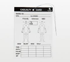 Classes are limited to the first 20 soldiers to register. Card Combat Casualty Document Tool 25 Pack