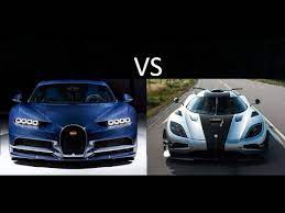 Bugatti chiron ss (replica) vs koenigsegg one:1 vs agera rs. Bugatti Chiron Vs Koenigsegg Agera One And Other Main Competitors Youtube