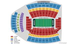 Carolina Seating Chart Williams Brice Stadium Seating Chart Williams Brice