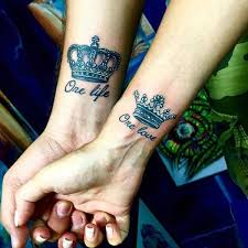 King And Queen Tattoos Ink Design Idea For Men And Women Tattoos