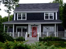 House With Black Trim Black Door White House Btcainfo Examples Doors Designs Ideas