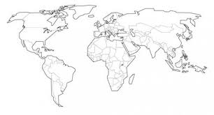 These maps are excellent tools for students of geography or anyone who wants to become. Looking For A Blank World Map Free Printable World Maps To Use In Class World Map Coloring Page World Map Outline Blank World Map
