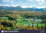 Anchorage Golf Course, Anchorage. Alaska golf course aerials ...