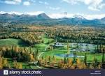 Anchorage Golf Course, Anchorage. Alaska golf course aerials ...