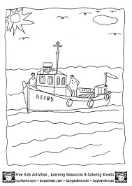 Small Picture fishing on boat coloring sheet 1gif 603848 Newfoundland