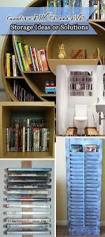 creative diy cd and dvd storage ideas or solutions