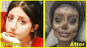 sahar tabar s zombie angelina jolie photos